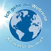 Weltreise-Postkarte ©Annette Jahrbeck