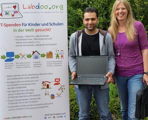 Laptop von Labdoo ©Ralf Hamm