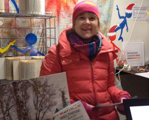 Katharina erzählt von unserem Programm.
